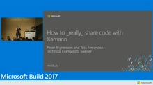How to really share code with Xamarin