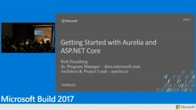 Getting started with Aurelia and ASP.NET Core