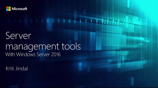 Server Management Tools and Windows Server 2016