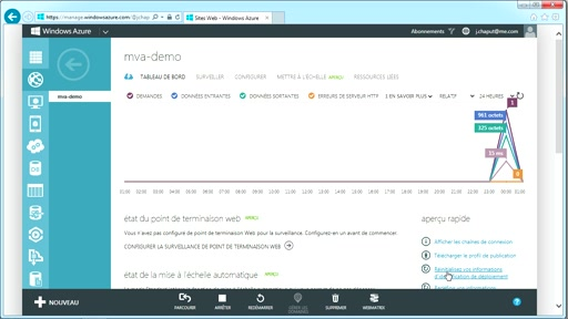 Comment uploader en ftp votre site dans Windows Azure Website