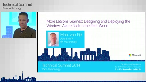 Azure Pack in Real World Scenarios