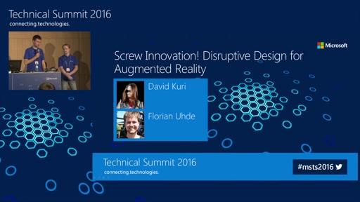Screw Innovation! Disruptive Design for Augmented Reality