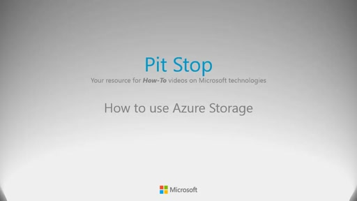 How to use Azure Storage