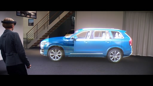 HoloLens Volvo cars