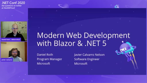 Modern Web Development with Blazor & .NET 5