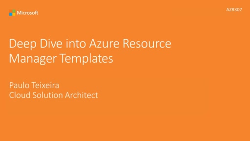 Deep Dive on Azure ARM Templates