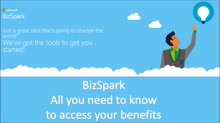 How to access your BizSpark benefits?