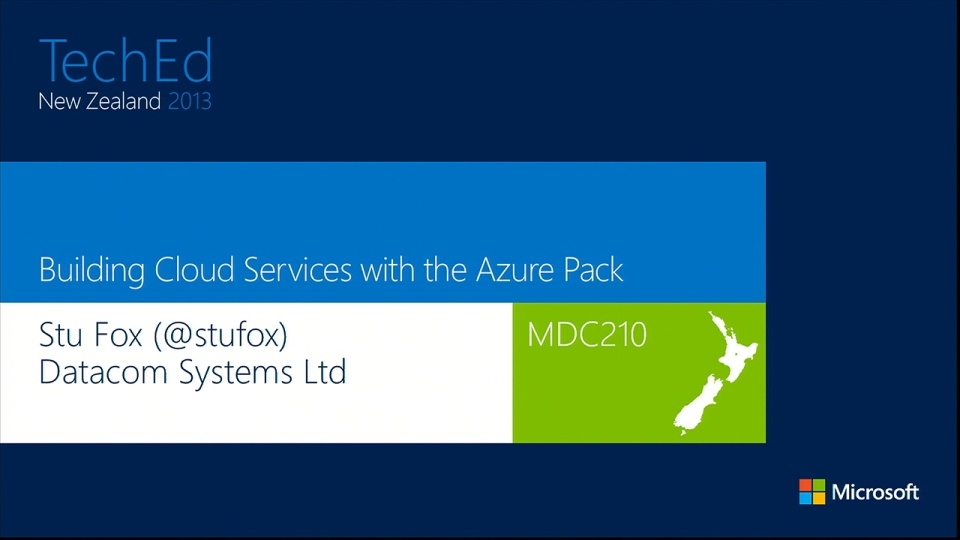 Building Cloud Services with the Windows Azure Pack