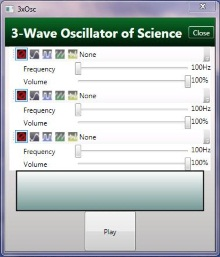 Generating Sound Waves with C# Wave Oscillators