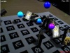 Augmented Reality Domino Knock-Down Game