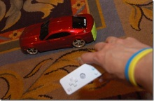 Wiimote Controlled Car