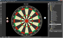 WPF Dartboard scoring application