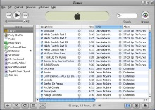 Displaying Your iTunes Library