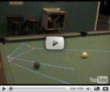 8-ball, corner pocket, off side wall