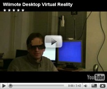 Wiimote Virtual Reality Desktop
