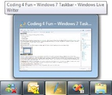 Coding 4 Fun - Windows 7 Taskbar