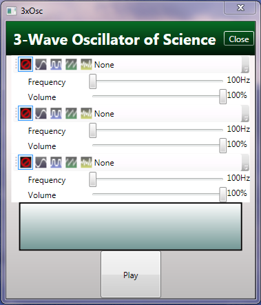 Generating Sound Waves with C# Wave Oscillators | Coding4Fun