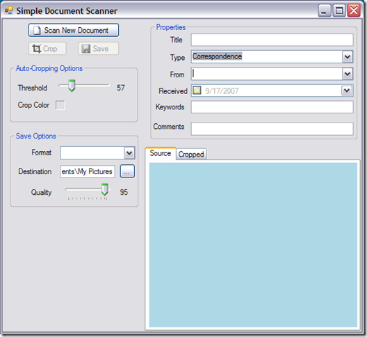 Image 1 - The user interface