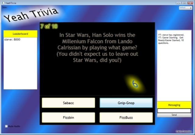 YeahTrivia: Creating a Trivia Server/Client with WPF and WCF