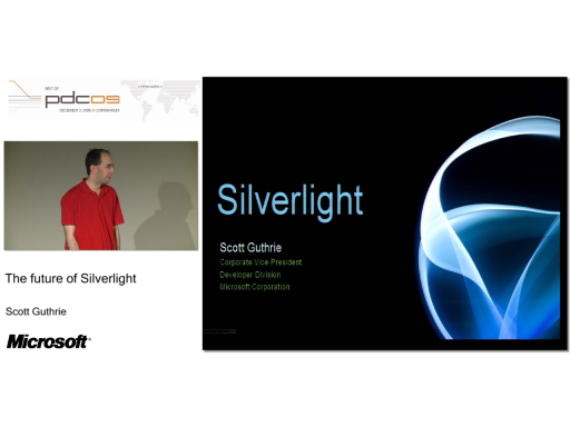 DKPDC09 Session 6 - The future of Silverlight