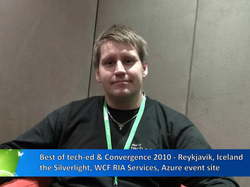 Pete at Reykjavik: Silverlight, Azure, RIA Services Event Site in 8 days