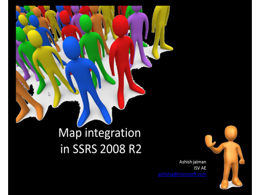 SSRS 2008 R2 Map integration