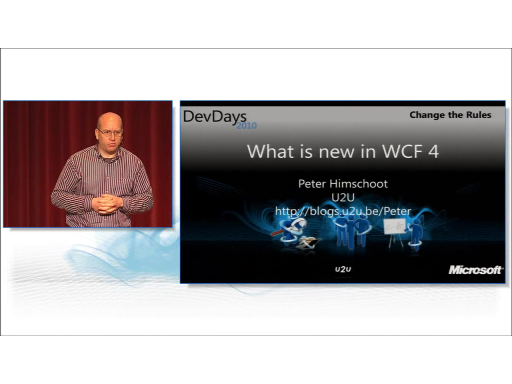 What's New in WCF4 by Peter Himschoot