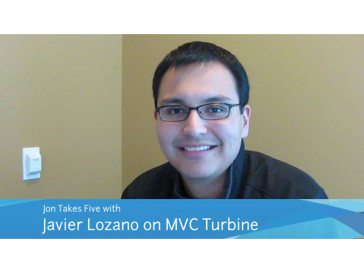 Jon Takes Five with Javier Lozano on MVC Turbine