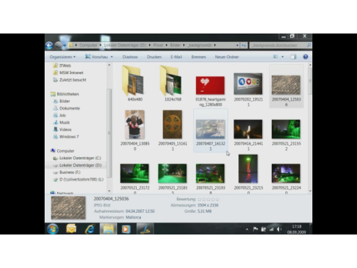 7x7 T-42: Der Windows Explorer