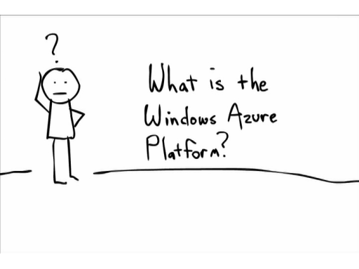 Whiteboard Video 1 of 4: What is the Windows Azure Platform?