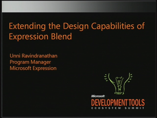VSX107: Extending the Design Capabilities of Blend 3