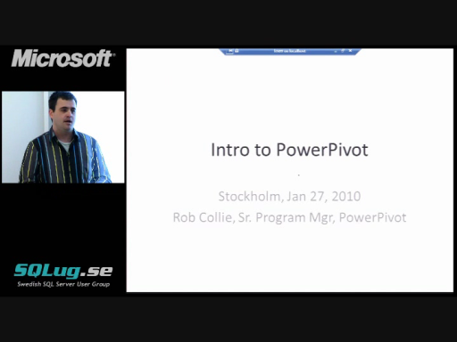 PowerPivot Deep Dive with Rob Collie (1/3)