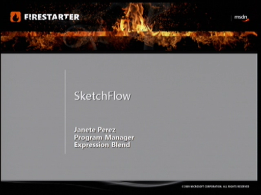 Silverlight FireStarter (Part 5 of 9): Sketch Flow