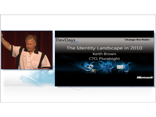 The Identity Landscape in 2010 by Keith Brown