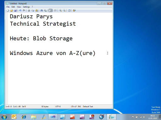 Windows Azure von A-Z(ure) - Teil 5