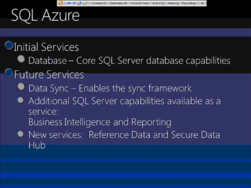 All Data/All Day Dive into .NET Data Access (Part 6 of 6): Azure Data Storage Options