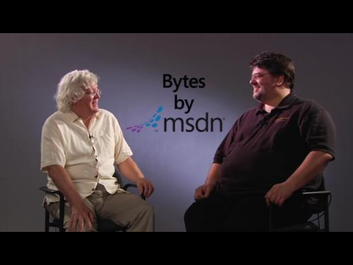 Bytes by MSDN: Carl Franklin and Billy Hollis discuss .NET Rocks! & UI Importance