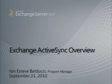 Exchange ActiveSync (EAS)