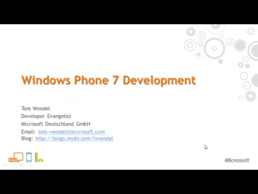 Windows Phone 7 Development