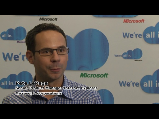 REMIX10 - Interview: Pete LePage on Internet Explorer and HTML5