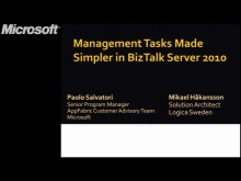 Management Tasks Made Simpler in Microsoft BizTalk Server 2010