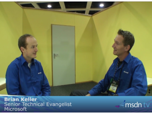 Interview Tech-Ed 2009 Berlin: Brian Keller talks about the new VS 2010 Testing Tools