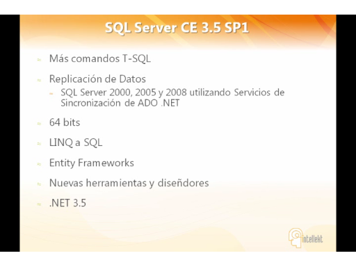 Usando SQL Server CE con Windows Phone 6.5