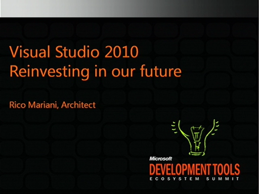 VSX100: Visual Studio Extensibility Keynote: Past Present and Future