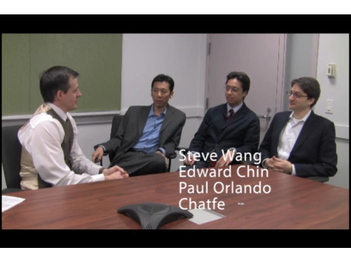 Talking with Chatfe at the recent BizSpark camp for Windows Azure in New York