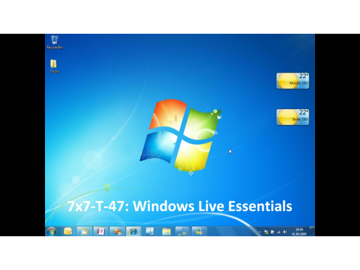 7x7-T-47: Windows Live Essentials