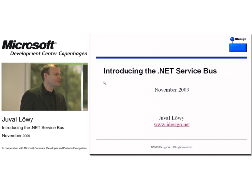 Juval Lowy - Introducing the .NET Service Bus