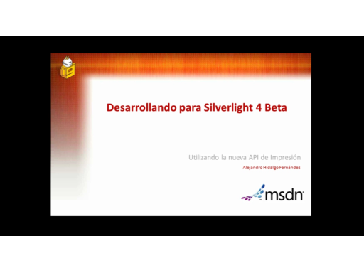 Silverlight 4 Beta. Imprimiendo desde Silverlight
