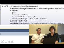 Mike Barnett and Daryl Zuniga: Code Contracts Editor Extensions