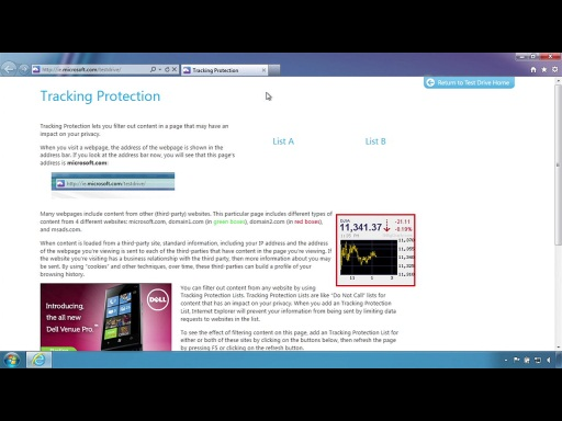 IE9 and Privacy: Introducing Tracking Protection